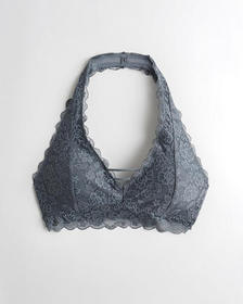 Hollister gilly hicks Everything Lace Halter Brale