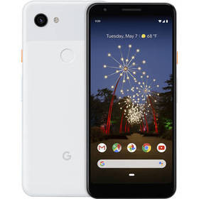Google Pixel 3a Smartphone (Unlocked, Clearly Whit