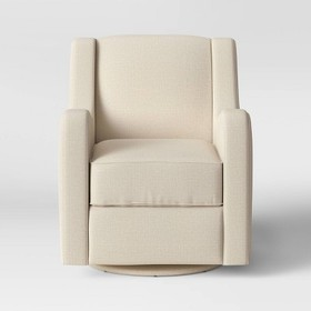 Antrim Curved Arm Swivel Glider Chair - Threshold&