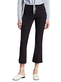3.1 Phillip Lim Slim Cropped Kick Flare Pants NAVY