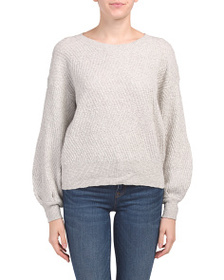 VINCE CAMUTO Textured Stitch Sweater