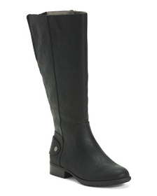 LIFESTRIDE Wide Width And Calf Riding Boots