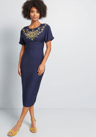 Bright & Beautiful Haute New Heights Embroidered M