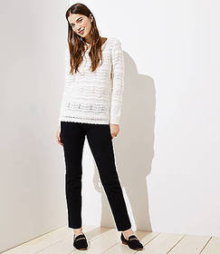 Tall Slim Crop Pull On Pants