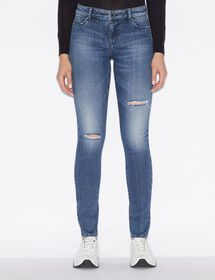 Armani FIVE-POCKET SUPER SKINNY JEANS