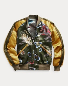 Ralph Lauren Reversible Satin Tour Jacket