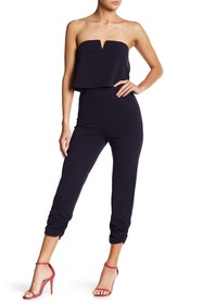 Love...Ady Strapless Popover Jumpsuit