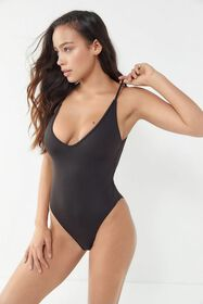 Out From Under Plunge One-Piece Swimsuit
