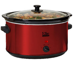 Elite Platinum 8.5-qt Stainless Steel Slow Cooker