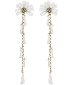 Kate Spade New York Into The Bloom Linear Earrings