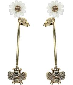 Kate Spade New York All Abuzz Bee Linear Earrings