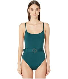 Kate Spade New York Daisy Buckle Classic One-Piece