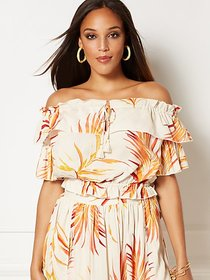 Luci Off-The-Shoulder Blouse - Eva Mendes Collecti