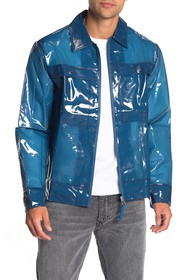 Rains Waterproof Boxy Zip Front Jacket