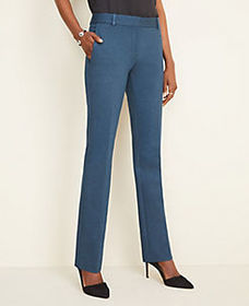 The Straight Pant in Ponte - Curvy Fit