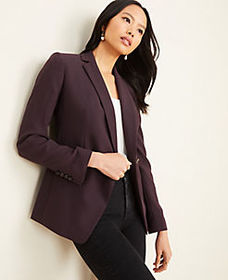 Long Double Breasted Blazer