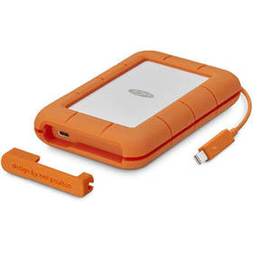 LaCie 500GB Rugged Thunderbolt External SSD with U