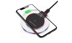 Qi Wireless Charger Charging Pad for iPhone 11/Pro