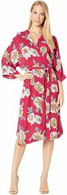 Roxy Privy Places Kimono Wrap Dress