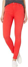 7 For All Mankind High Waist Ankle Skinny in Brill