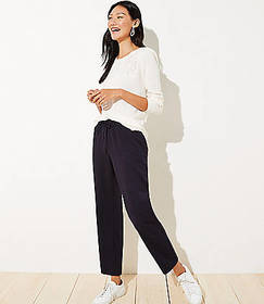 Striped Tapered Jogger Pants