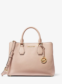 Michael Kors Camille Large Leather Satchel