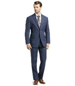 Jos Bank Traveler Collection Tailored Fit Suit - B