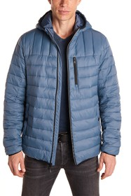 Perry Ellis Nylon Packable Quilted Jacket