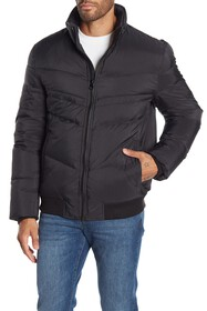 Andrew Marc Quilted Down Filled Jacket
