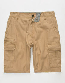 SUBCULTURE Textured Mens Cargo Shorts_