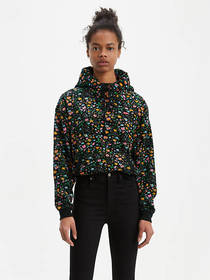 Levi's All Over Floral Hoodie