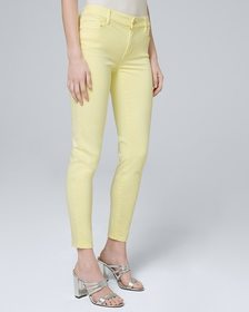 Mid-Rise Skinny Crop Jeans