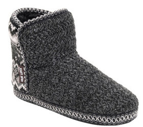 MUK LUKS Women's Bootie Slippers - Leigh - A434890