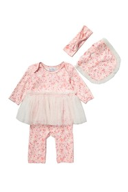 Nicole Miller Skirted Coverall