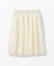 Hanna Andersson Skirt In Soft Tulle in Ecru - main