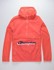 CHAMPION Manorak Papaya Mens Anorak Jacket_