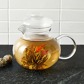 Crate Barrel Flowering Tea Set