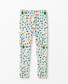 Hanna Andersson Printed Leggings in Ecru Multi - m