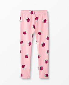 Hanna Andersson Printed Leggings in Happy Pink - m
