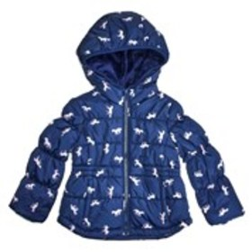 OSHKOSH Toddler Girls Unicorn Hooded Anorak Coat w