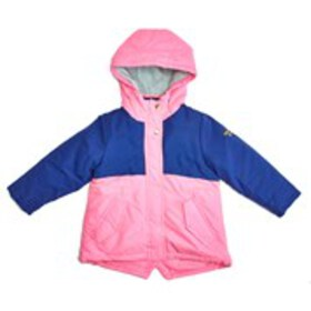 OSHKOSH Girls Colorblock Hooded Fleece Lined Coat