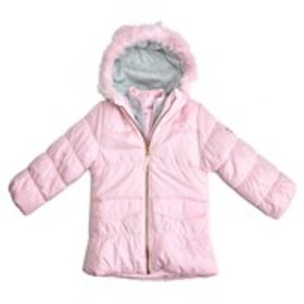 OSHKOSH Girls Faux Fur Hooded Parka Jacket (4-6X)