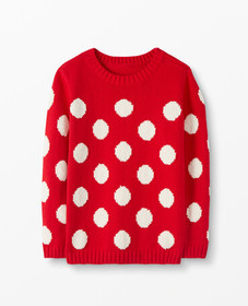 Hanna Andersson Marshmallow Dot Sweater in Hanna R