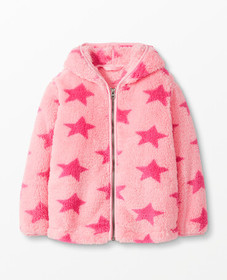 Hanna Andersson Marshmallow Hoodie in Happy Pink -