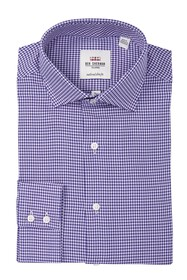 Ben Sherman Houndstooth Slim Fit Dress Shirt