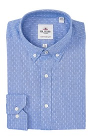 Ben Sherman Oxford Dobby Skinny Fit Dress Shirt