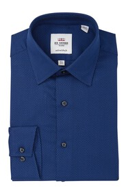Ben Sherman Dobby Textured Slim Fit Dress Shirt