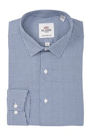 Ben Sherman Argyle Dobby Gingham Skinny Fit Dress