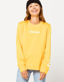 SPALDING Woven Patch Womens Tee_