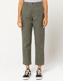 COCO & JAIMESON Olive Womens Utility Pants_
